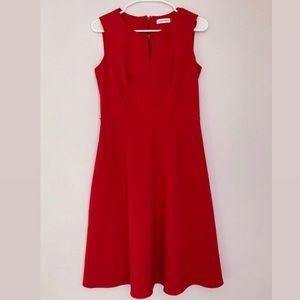 Calvin Kline Red Dress